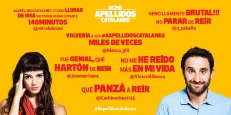 Taquilla: 'Ocho apellidos catalanes' es el film español con mayor recaudación de 2015