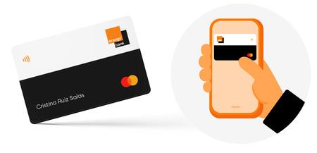 Sin números, CVC ni fecha de caducidad: así es la tarjeta de débito 100% móvil que estrena Orange Bank en España