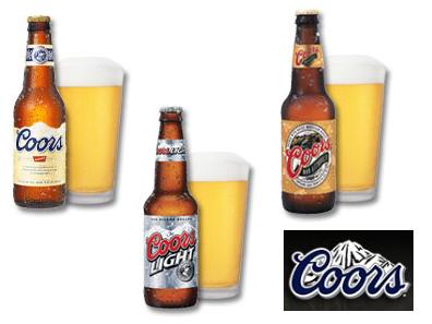 Coors, una cerveza americana con etiquetas de tinta termocromática