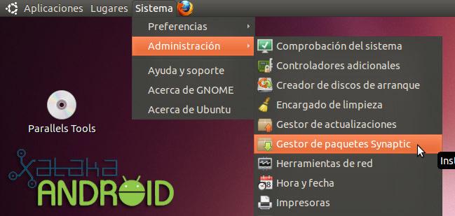 synaptic sdk android ubuntu