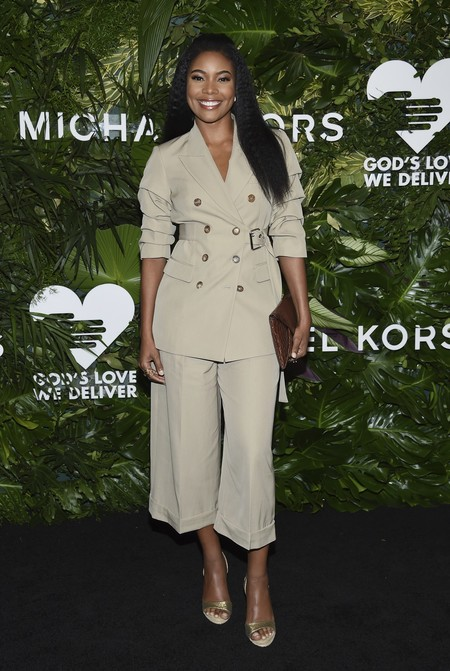 golden heart gala look estilismo outfit Gabrielle Union