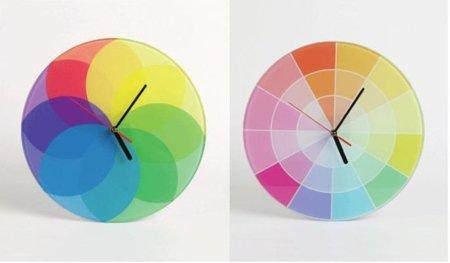 Relojes de colores, para alegrar la estancia