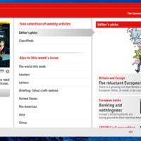 The Economist ahora está disponible como aplicación universal de Windows 10, para móvil y PC