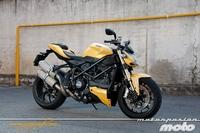 Ducati Streetfighter 848, prueba (conducción en ciudad y carretera)