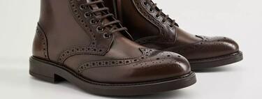 Las botas con detalle troquelado serán el calzado estrella que realzará todos tus looks de otoño