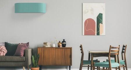 Diseño y confort: Integra el aire acondicionado en la decoración de tu hogar con los split de pared con tela