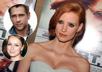 Jessica Chastain, Colin Farrell y Samantha Morton protagonizarán 'Miss Julie'