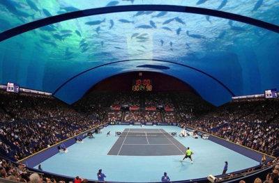 En Dubai nada es imposible, ahora quieren una cancha de Tenis submarina