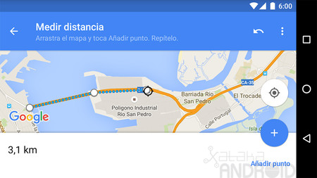 Cómo medir distancias con Google Maps para Android