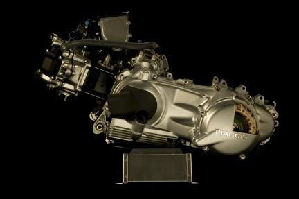 Motor Piaggio híbrido
