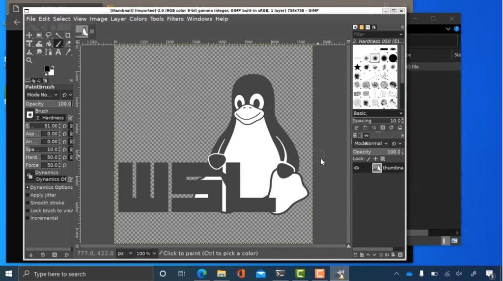 Así es la ejecución de aplicaciones complejas de Linux en Windows 10: la integración parece magia en vídeo