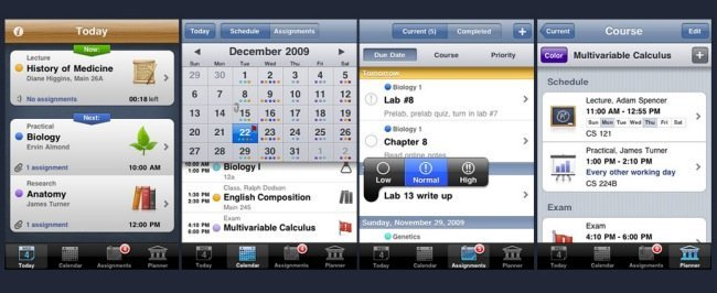 iStudiez iPhone