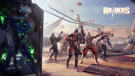 Aquí tienes 4 Divided by 1, el nuevo tráiler de Raiders of the Broken Planet
