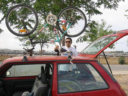 El coche consume menos sin baca ni portaesquies