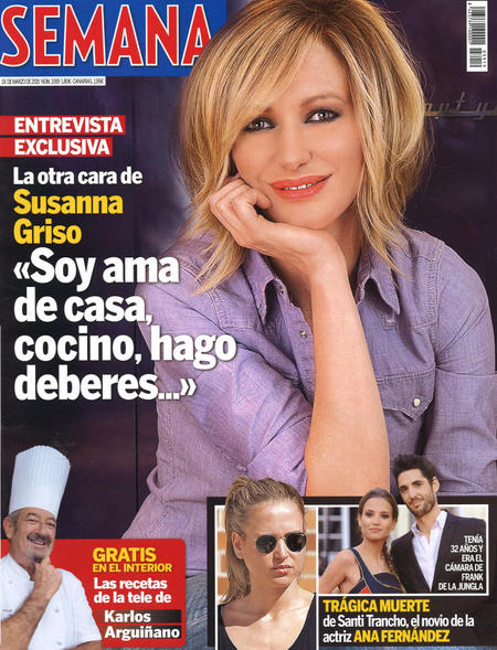 Susanna Griso, la portada más toña de la