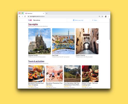 Touring Bird, el nuevo sitio de Google para encontrar cosas que hacer en varios destinos turísticos del mundo