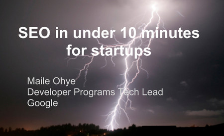 Los consejos para mejorar el SEO en startups de Google