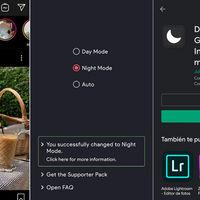 Con DarkMode puedes activar el modo oscuro en apps como Instagram si tu móvil no tiene la opción en los ajustes