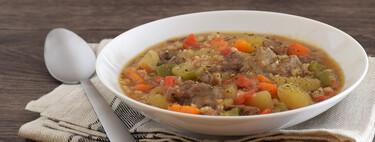 Estofado de ternera y verduras a la cerveza con arroz: receta económica, nutritiva y sabrosa en olla de cocción lenta