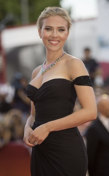 Scarlett Johansson, tú antes molabas