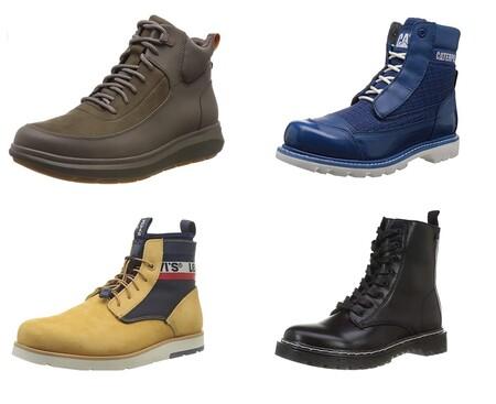 Chollos en tallas sueltas de botas Levi's, Caterpillar o Clarks a la venta en Amazon por menos de 50 euros