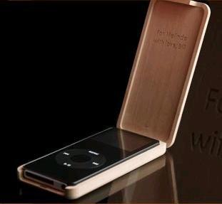 Funda de madera para el iPod Nano