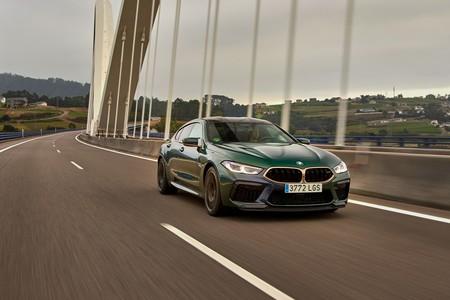 El BMW M8 Gran Coupé First Edition es pura exclusividad en verde y bronce con 625 CV, por 221.900 euros