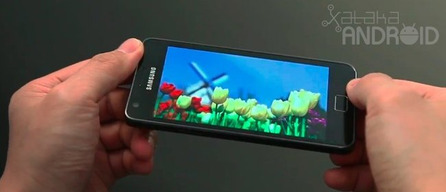 Samsung Galaxy S2 vídeo análisis