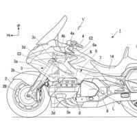 Estas patentes muestran que Honda trabaja en un sistema autónomo de asistencia a la dirección para sus motos