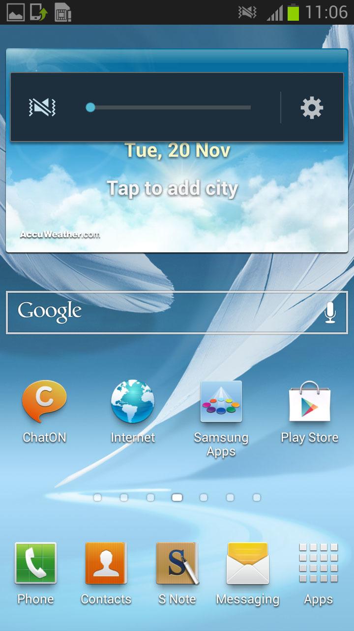 Foto de 4.1.2 Galaxy Note II (1/5)