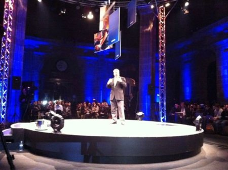 Stephen Elop en el Mobile World Congress