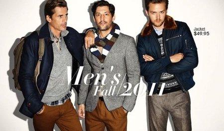 Jamie Strachan, Mark Vanderloo y Tony Ward, todos juntitos y mal avenidos para H&M
