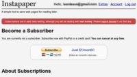 Instapaper lanza suscripciones para desarrollar nuevas funcionalidades