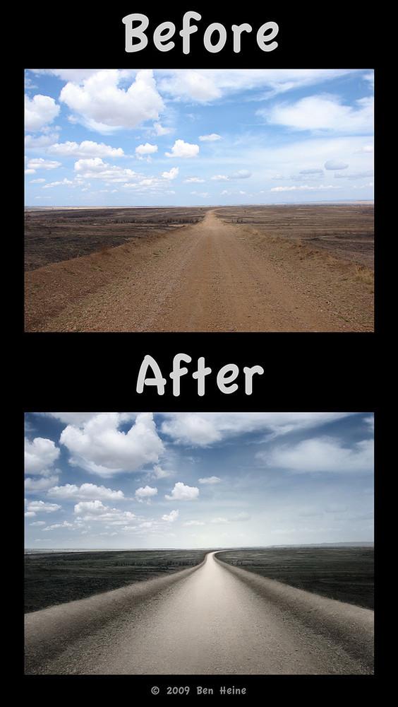 Foto de ¿Cómo Photoshop puede convertir una foto mediocre en una gran fotografía? (9/12)