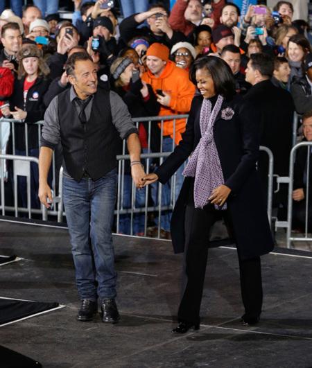 Michelle Obama bruce