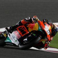 ¡Qué escándalo! Raúl Fernández lidera sus segundos libres en Moto2 con medio segundo de ventaja