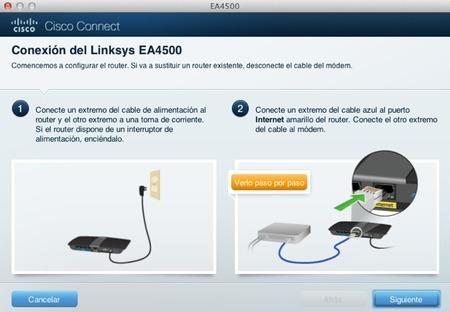 Router Linksys ea4500 - configuración
