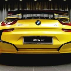 Foto 6 de 16 de la galería bmw-i8-amarillo en Motorpasión