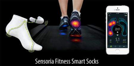 Calcetines con sensores para monitorear nuestra pisada