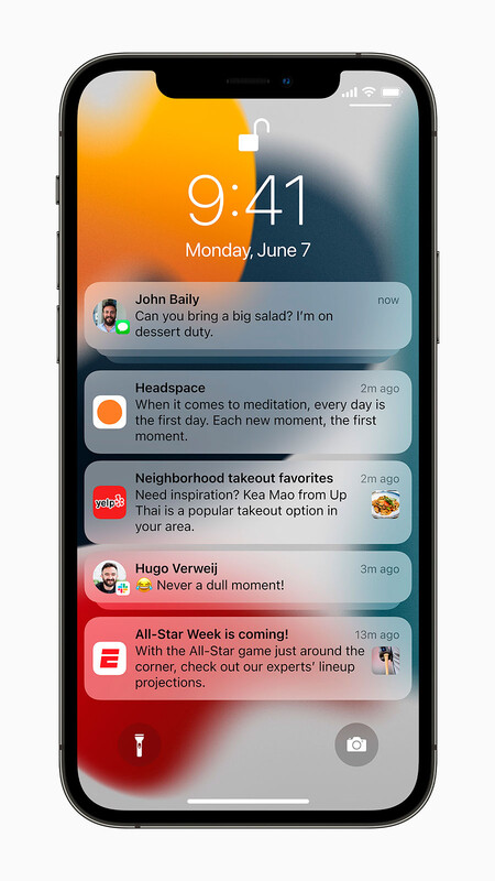 Apple Iphone12pro Ios15 Notifications Lockscreen 060721