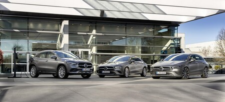 Mercedes Compactos Hibrido Enchufable