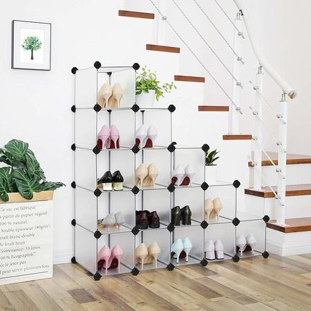 Formas de organizar los zapatos