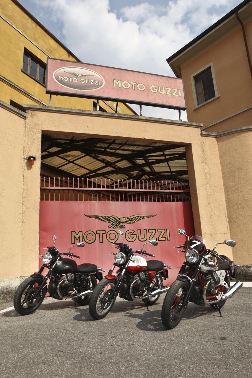 Foto de Moto Guzzi V7 gama 2012 (4/11)