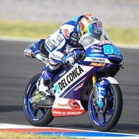 Jorge Martín no da opciones en Moto3 y domina las dos sesiones del viernes en Austin
