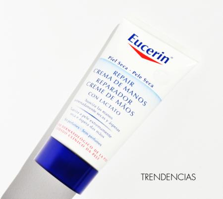 Manos de terciopelo aún en invierno: probamos la crema reparadora de Eucerin