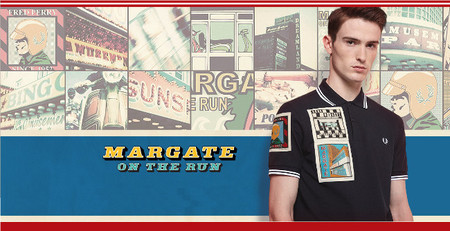 Margate on the run fred perry