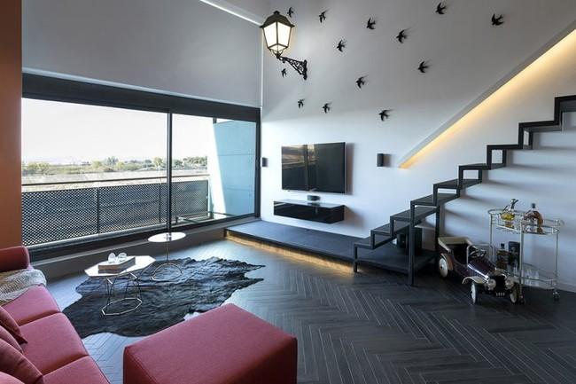 5 Lord Loft Proyecto Interiorismo Reforma Salon Tiovivo Creativo 4rect