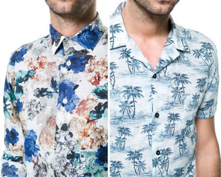 ¿Flores o palmeras? Los estampados más veraniegos han llegado a las camisas de Zara