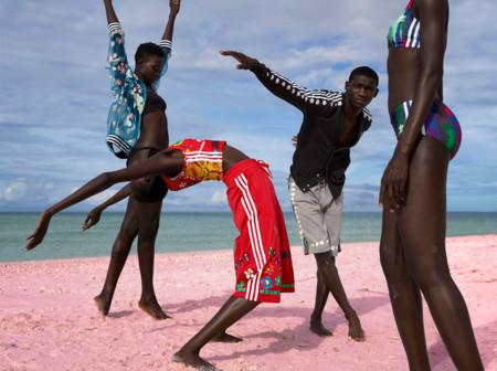Adidas Pink Beach Pharell Williams Collection