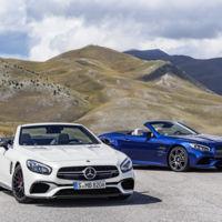 Este es el Mercedes-Benz SL, con aspecto de AMG GT y nueva caja de cambios
